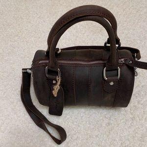 Vagabond Traveler Mini Duffle Shoulder Bag !